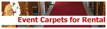 event carpets for rental & hire